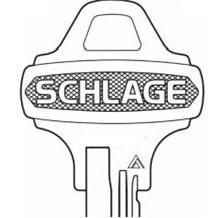 Original Schlage: 35-101EF Keyblank (Clearance)