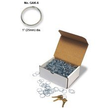 GAK-6 Give Away Key Rings