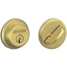Schlage B60 Single Cylinder Grade 1 Deadbolt (B-Series)