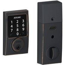 Schlage BE468NX-CEN Connect Century Touchscreen Deadbolt with Z-Wave