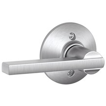 Schlage F170-LAT Latitude Single Dummy Door Lever Set from the F-Series