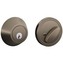 Schlage JD60-620 Single Cylinder Deadbolt from the J-Series (Formerly Dexter)