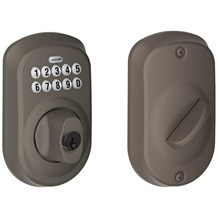 Schlage BE365-PLY-613 Oil Rubbed Bronze Plymouth Keypad Single Cylinder Deadbolt (Discontinued)