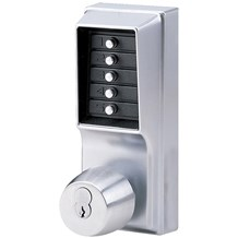 1041S-26D-LO Simplex Pushbutton Lock w/ Key Override & Lockout
