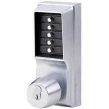 1021B-26D Simplex Pushbutton Lock with Knob w/ Key Override (Best)