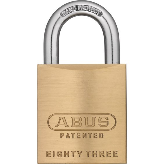 Abus 83 45 300 Sc1 Keyway 1 Shackle Solid Brass Rekeyable