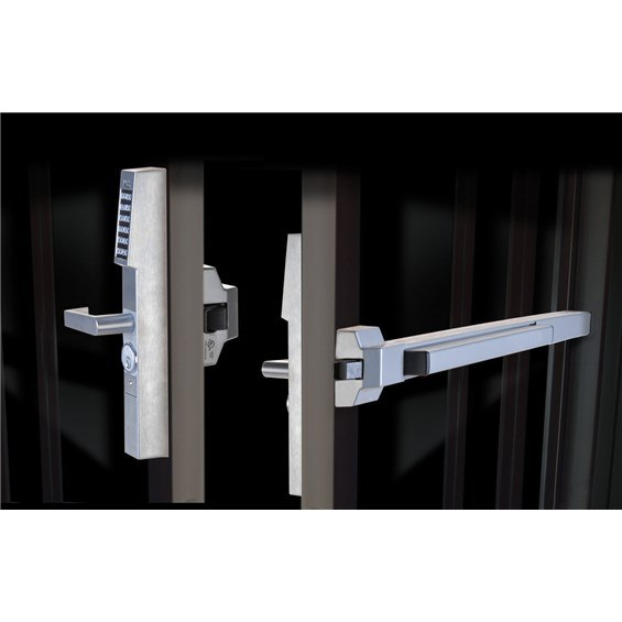 Alarm Lock Dl1200et Trilogy Narrow Stile Exit Device Trim