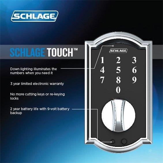 Schlage Be375 Cam 605 Be375cam605 Be375 Cam 609