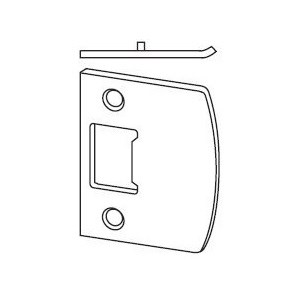 Schlage 10-026-10026-10 026 F-Series Square Corner Full Lip