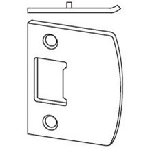 Schlage 10-026 Square Corner Full Lip Strike