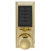 1031-03 Simplex Pushbutton Lock with Knob w/ Passage Mode