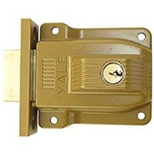 Yale 112-1/4F Outswinging Double Cylinder Rim Lock