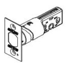 Schlage 12-288 B-Series Square Corner Deadbolt Latch