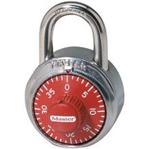 1504 Colored Dial Combination Padlock