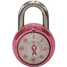 1530DPNK Breast Cancer Awareness Padlock