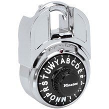 1593 Shrouded Letter Lock Master Padlock (With Combo Charts)