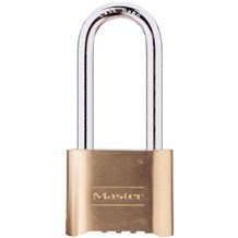 175LH Brass Combination Padlock