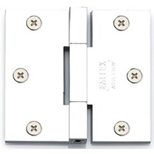 Emtek Square Barrel Heavy Duty Hinges - Solid Extruded Brass