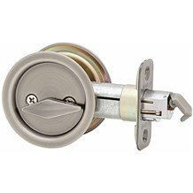 335 Round Pocket Door Lock Privacy