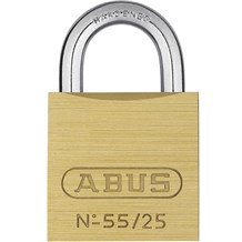 Abus 55/25KA-5251 Economical Solid Brass Padlock