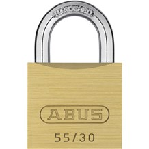 Abus 55/30 Economical Solid Brass Padlock