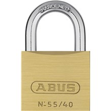 Abus 55/40 Economical Solid Brass Padlock