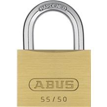 Abus 55/50 Economical Solid Brass Padlock