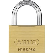 Abus 55/60 Economical Solid Brass Padlock