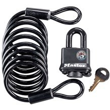 Master Lock 613DAT Spare Tire and Cable Set