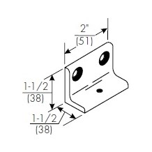 Norton 6890 Narrow Frame Support Bracket for 8000 Series