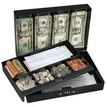 No. 7147 Combination Locking Cash Box