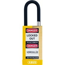 Abus 74MLB/40 Non-Conductive Brass Safety Padlock - 1-1/2