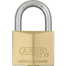 Abus 75/40 Solid Brass Padlock with Dimple Key
