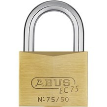 Abus 75/50 Solid Brass Padlock with Dimple Key