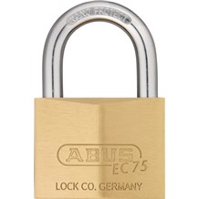 Abus 75/60 Solid Brass Padlock with Dimple Key