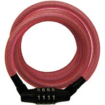 Master 8143 Breast Cancer Awareness Compact Combination Cable Lock