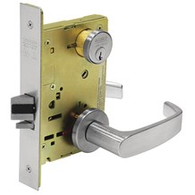 Sargent SG-8205LNL-26D Office or Entry MicroShield Mortise Lock