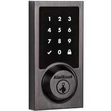 Kwikset 915 CNT Contemporary SecureScreen Electronic SmartCode Deadbolt