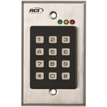 RCI 9212 Stand-Alone Flush Mount Keypad