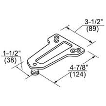Norton 9318A Soffit Plate (Non-Hold Open)