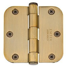 Emtek Residential Hinges - Solid Extruded Brass