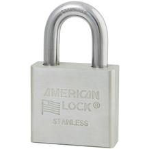 American No. A6460 Solid Stainless Steel Padlock