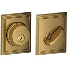 Schlage B60-ADD Single Cylinder Grade 1 Addison Deadbolt (B-Series)