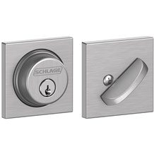 Schlage B60-COL Single Cylinder Grade 1 Collins Deadbolt (B-Series)