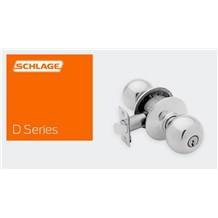 Schlage Commercial: D-Series Knobs