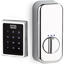 Deadbolt by Emtek: EMPowered™ Motorized Touchscreen Keypad Deadbolt