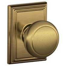 Knobs by Schlage: Andover Knob (Addison Rosette)