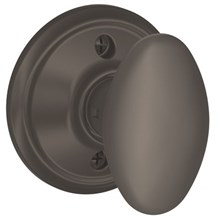 F170-SIE-613 Schlage Siena Single Dummy Knob in Oil Rubbed Bronze (Discontinued)