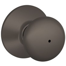 F40-PLY-613 Schlage Plymouth Privacy Knob in Oil Rubbed Bronze (Discontinued)
