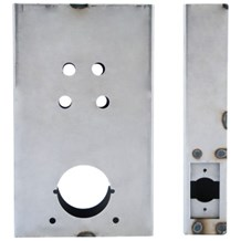 K-BXSIM-EE Cylindrical Weldable Gate Box